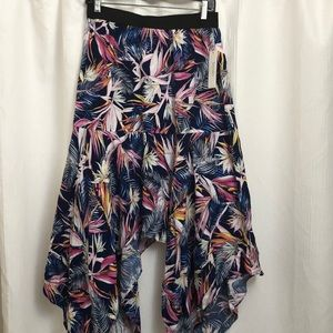Laundry Shelli Segal asymmetrical floral